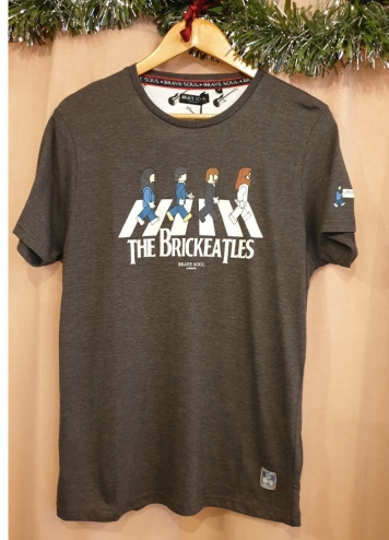 CAMISETA BRICKEATLES CHICO
