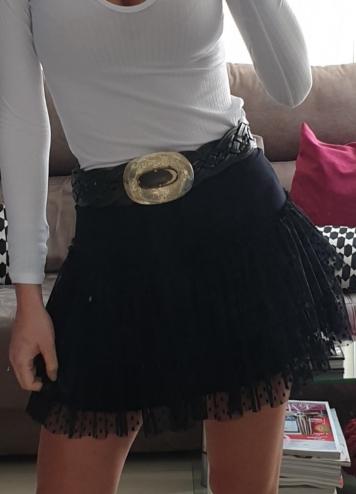 Falda Ana negro