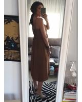 Vestido linochocolate