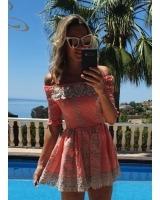vestido martinsa coral