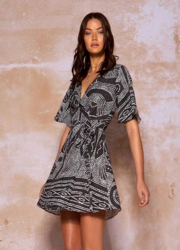oracle black dress