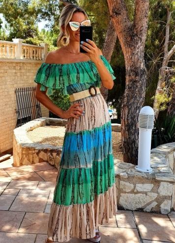 vestido zulua