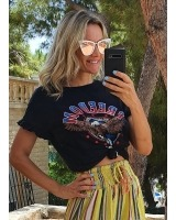 camiseta vibitas negra