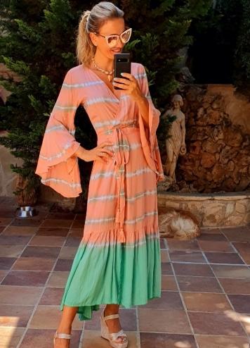 vestido kimono siena
