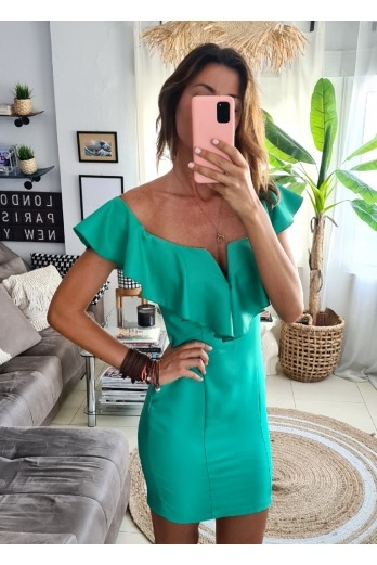Vestido Queeny Verde