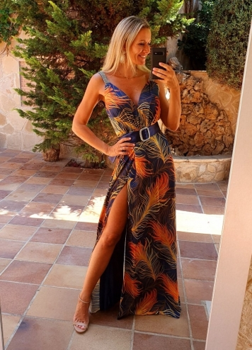 vestido andres
