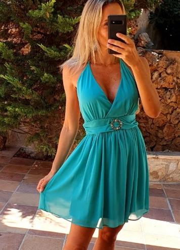 Vestido Dames verde