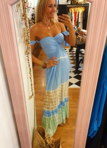 Vestido Iriga Azul