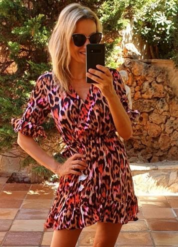 Vestido Leopardo colores