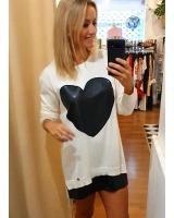 Vestido con corazón