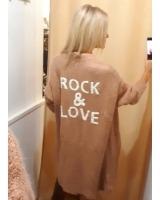 Chaqueta Rock nude