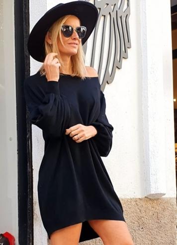 Vestido Estopa Negro