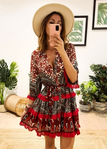 Vestido Jaén Caótica