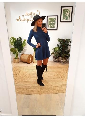 Vestido Teresa Azul