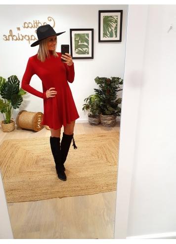 Vestido Teresa Burdeos