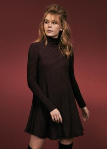 Vestido Teresa Burgundy