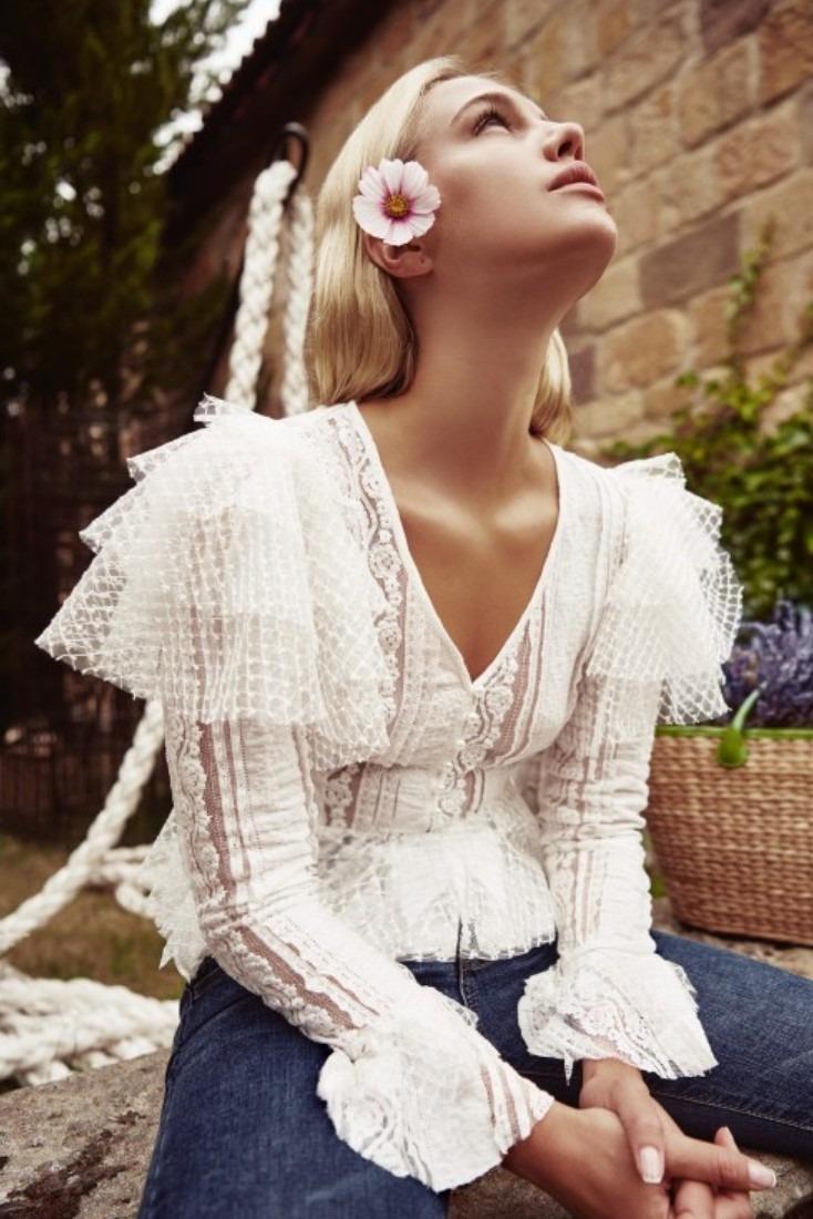 Harper blouse
