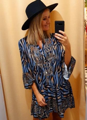 Vestido Andia azul