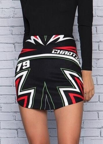 chaotic skirt
