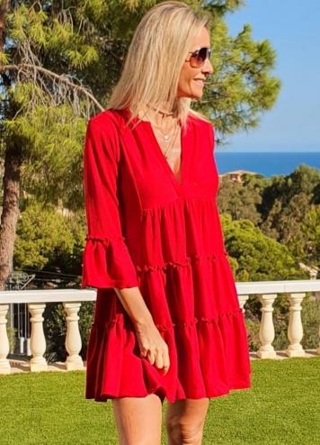 Vestido Pamplona Rojo