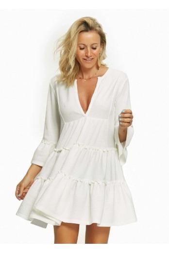 Vestido Pamplona Blanco