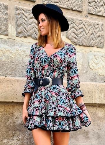 Vestido Pontevedra Caótica