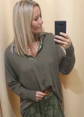 Pullover sea kaki