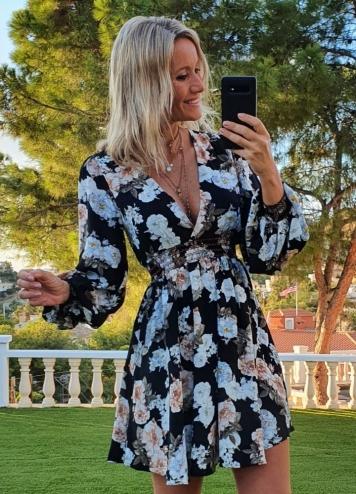 Vestido Burgos Caótica