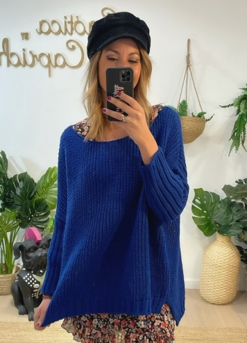 Jersey vianda Azul