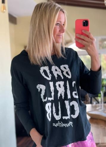 Camiseta Bad Girls negra