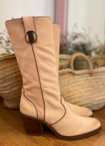 Bota Dallas Rosa