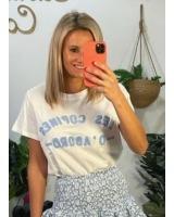 Camiseta Les Copines Azul