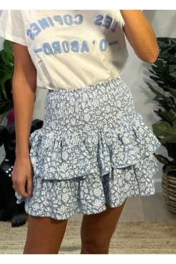 falda Le Flour Azul