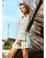 Vestido Sofia Beige Caótica