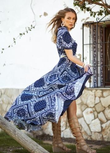 Vestido Tallin Caótica