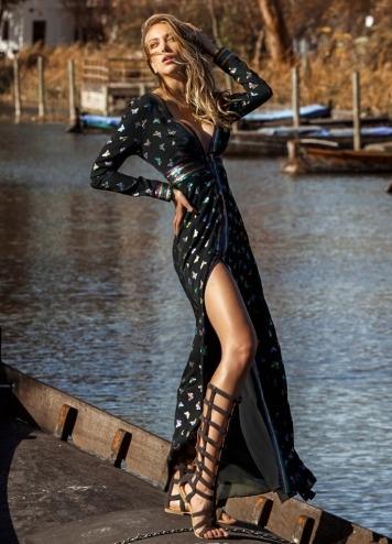 Vestido Sorrento caótica
