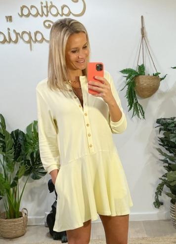 Vestido Berlin Amarillo Caótica