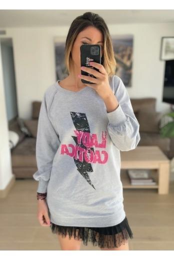 Vestido-Sudadera Lady Caótica
