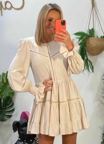 Vestido April Beige