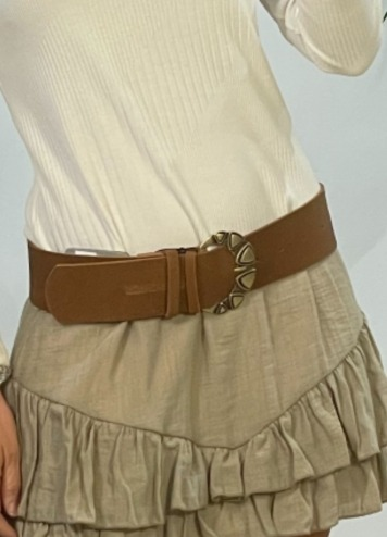 Cinturón Triangles Leather