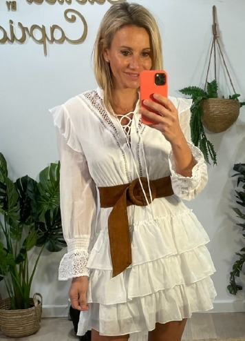 Vestido Trikki Blanco