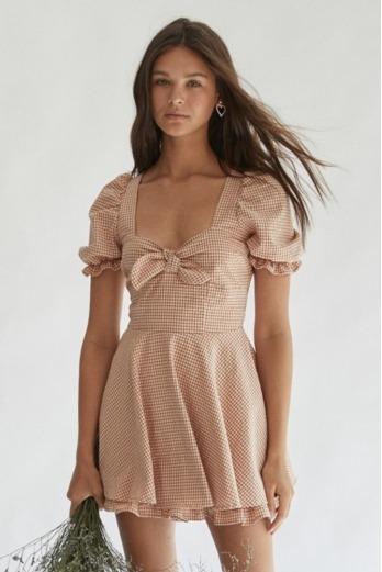 Vestido Mono Greta overall Marrón