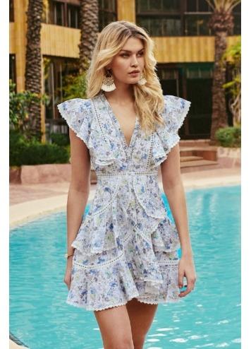 Blossom dress Blue