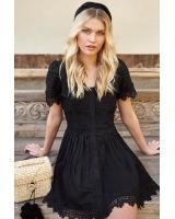 Creta Black Dress