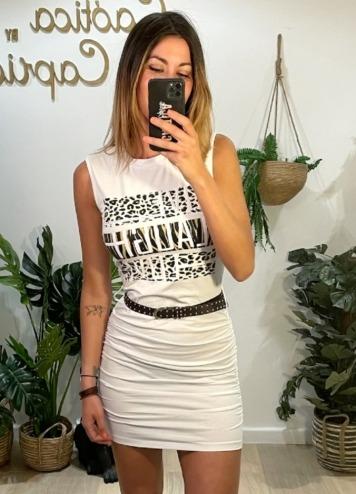Vestido Live Love Blanco