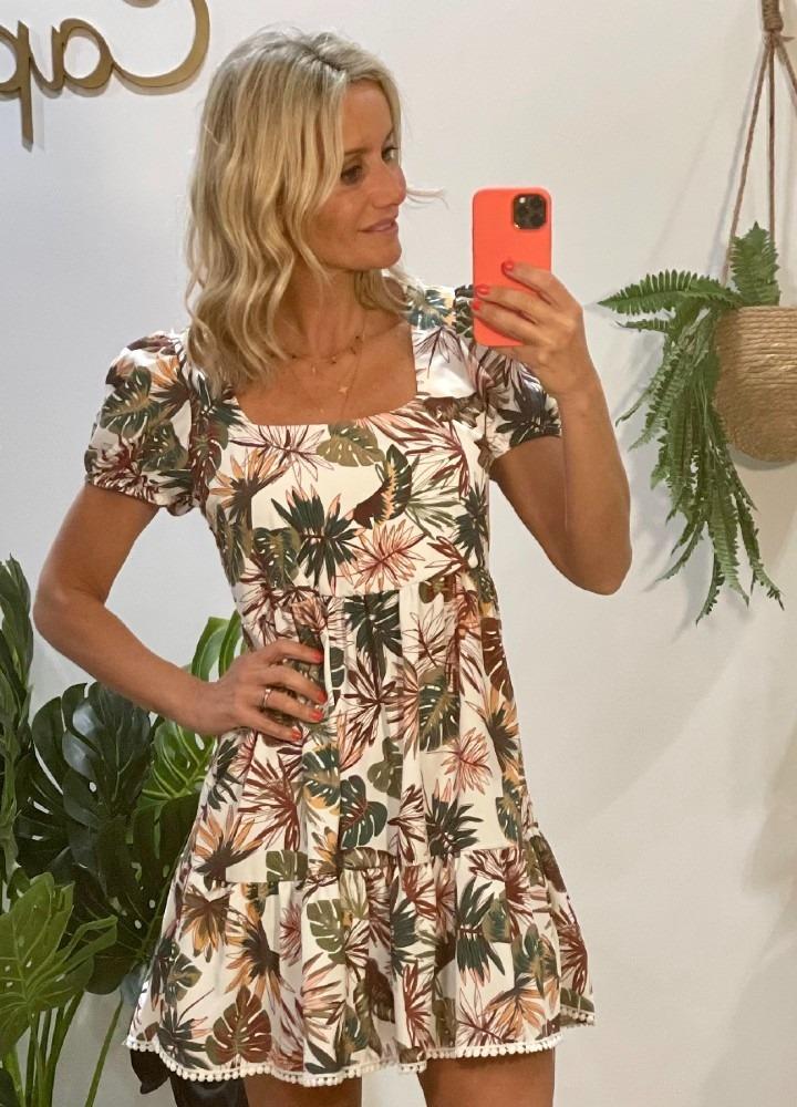 Vestido Tropical Babydoll