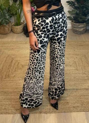 Pantalón Animal Print degrade