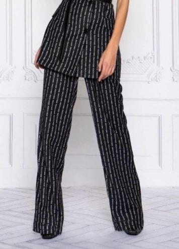 Pantalón Logo Stripe