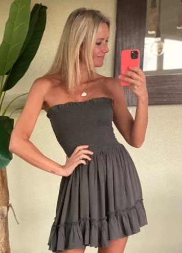 Dress Alimos grey