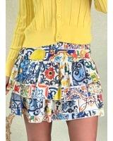 Falda Azulejo